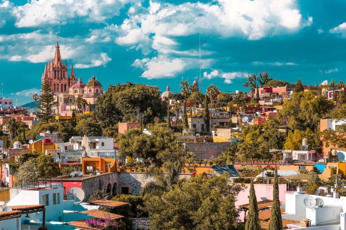 The hills are alive with the colors of San Miguel de Allende