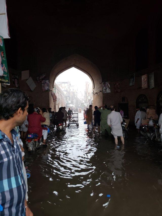 Walled City Flood Delhi Gate