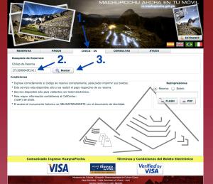 Machu Picchu Check In