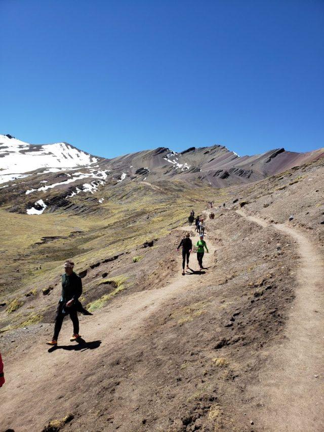 Rainbow Mountain Hike Middle