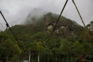 Machu Picchu Bridge View
