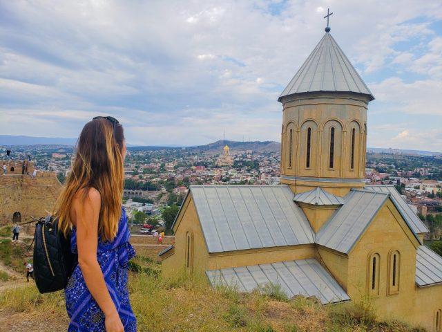 Yagmur Tbilisi exploring