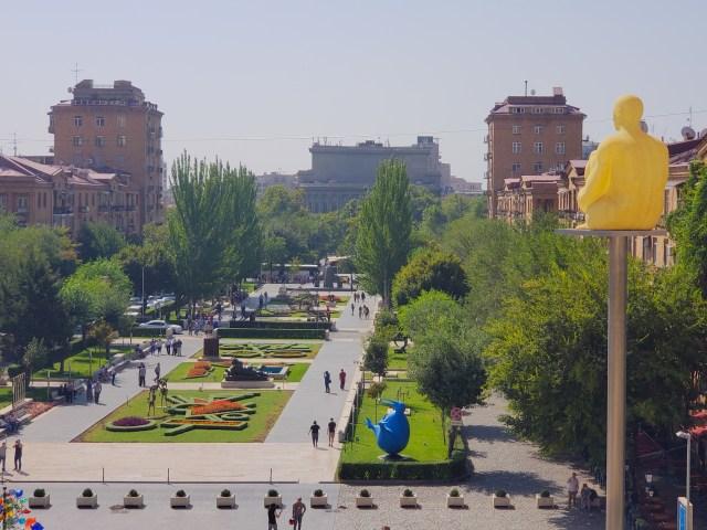 Yerevan large park
