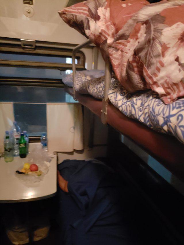 Inside Train 4