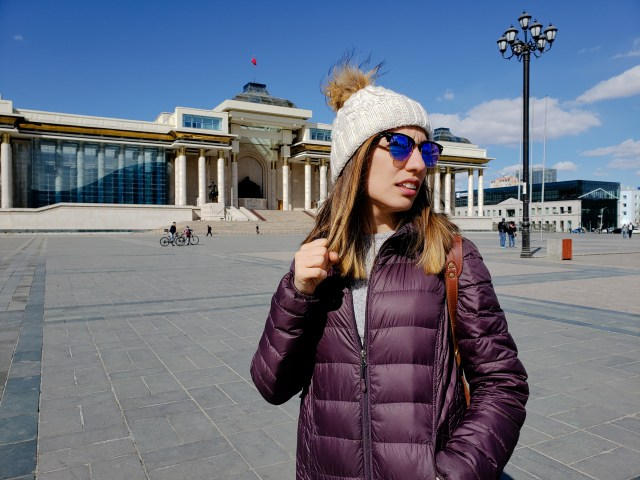 Yagmur Sukhbaatar Square