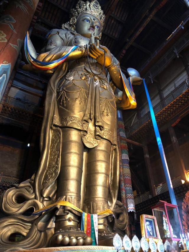 Ulaanbaatar Monastery Inside