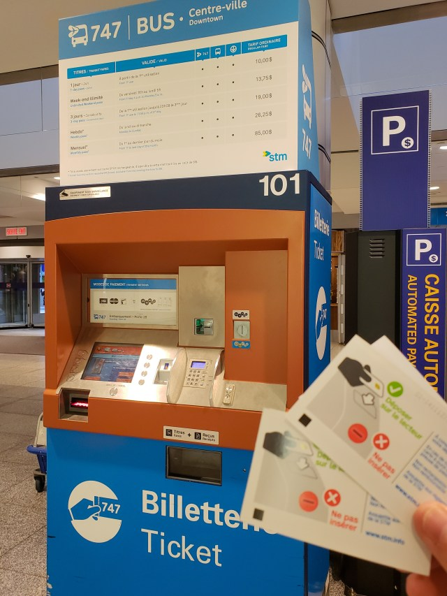 Montreal Metro Machine