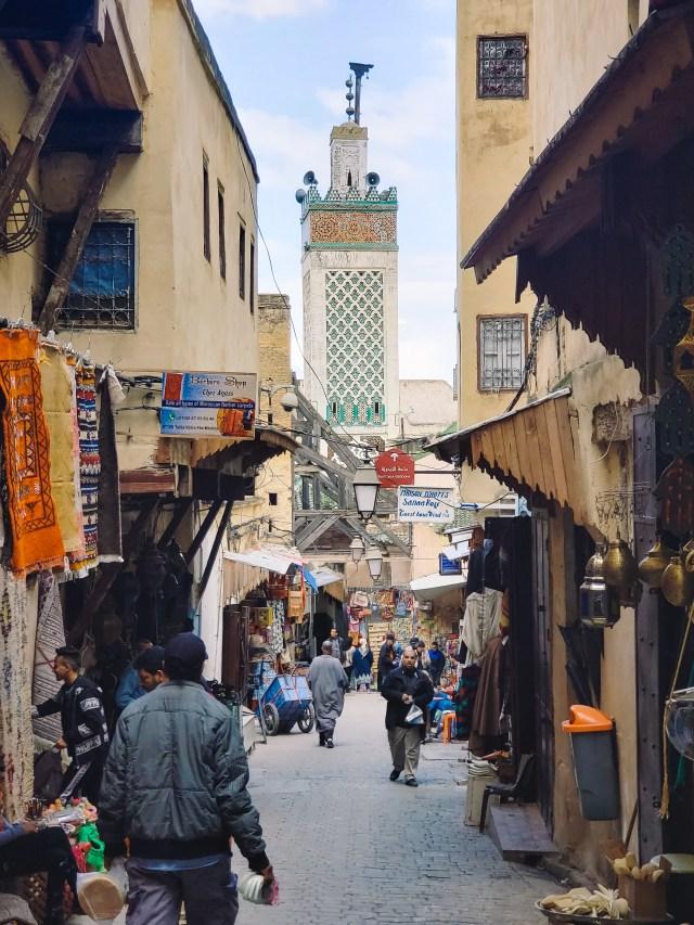 Fes-Medina-street