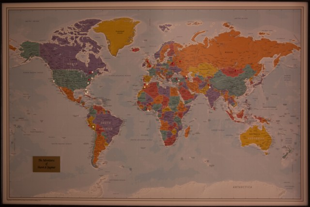 Edinburgh World Map