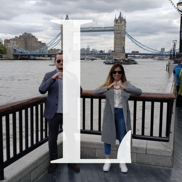 L - London England