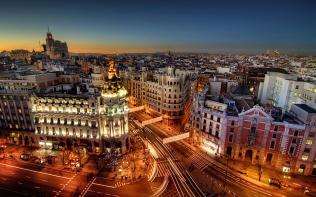 Madrid City Center (I may have also stolen this one from Google..)