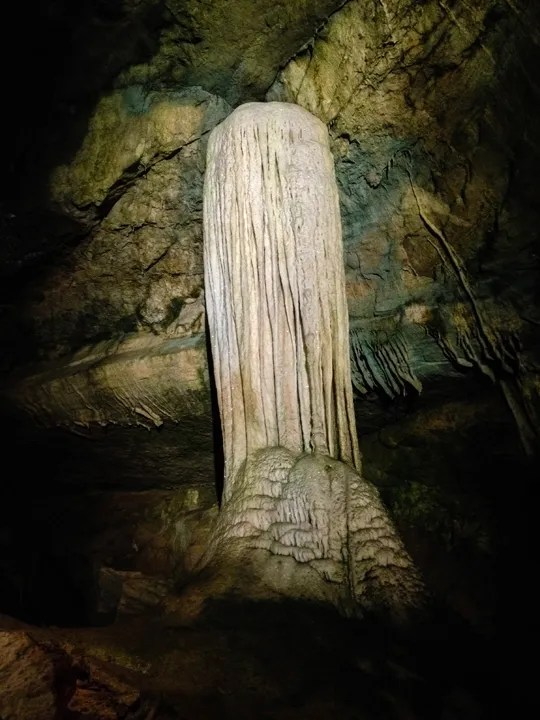 Lost World Caverns - Bridal Veil