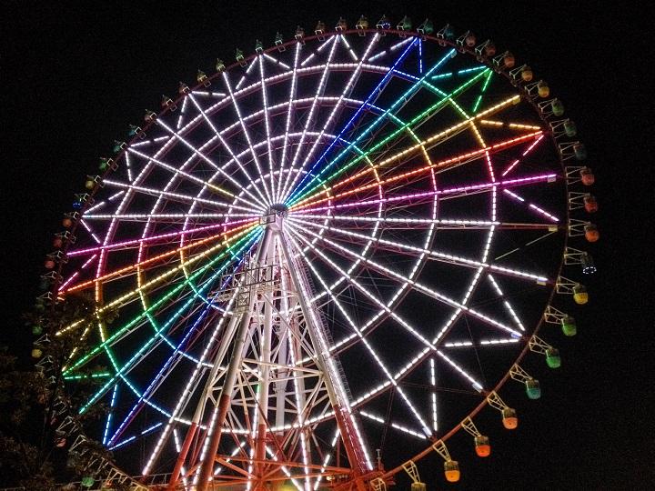 Ferris Wheel on Odaiba Island, Tokyo