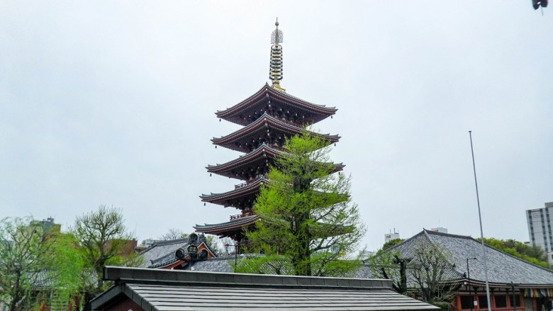 5 Story Pagoda in Tokyo