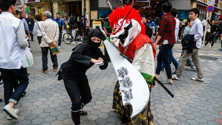 Random Cosplayers in Japan