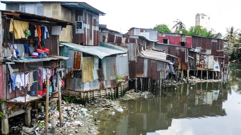 A not-so-pretty side of Saigon.