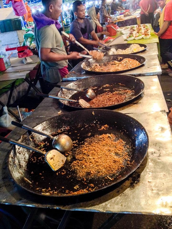 Pasar Malam in Malaysia