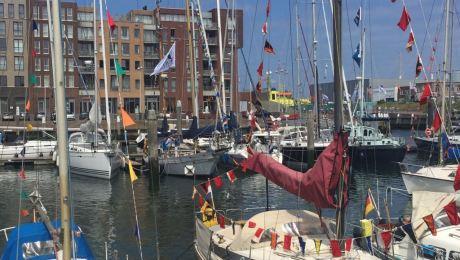 Hafen von Scheveningen