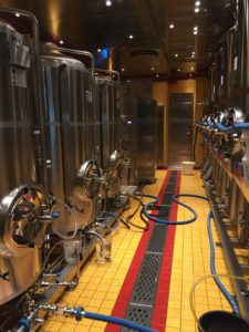 brewery on Carnival Vista