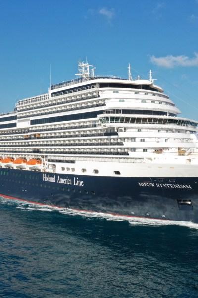 Nieuw Statendam HAL cruise ship
