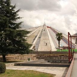 Pyramid; Tirana, Albania; 2013