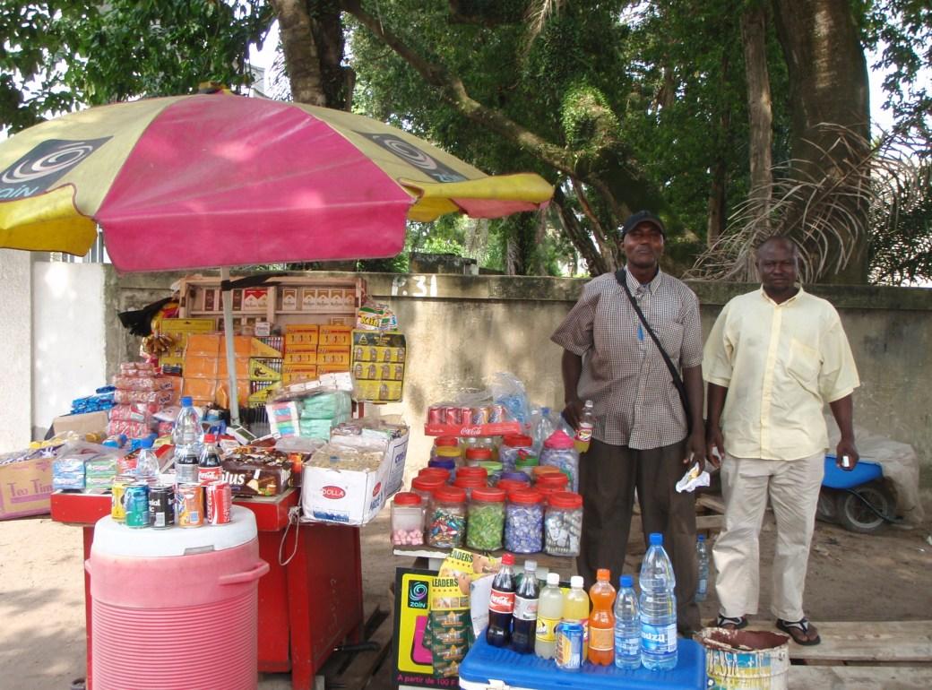 Street Venders; Port Gentil, Gabon; 2010