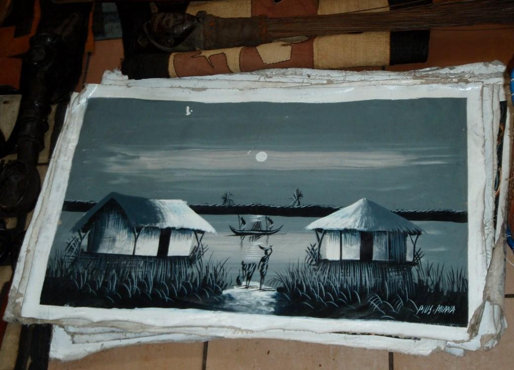 Local Painting; Port Gentil, Gabon; 2010