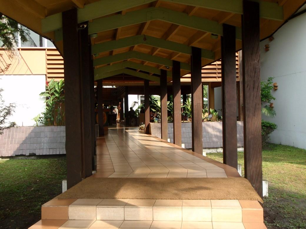 Hotel Entrance; Port Gentil, Gabon; 2010