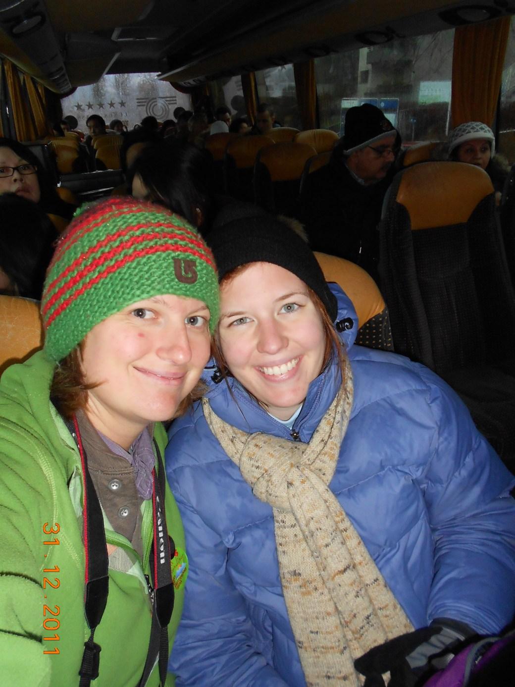 Bus Departure; Zurich, Switzerland; 2011