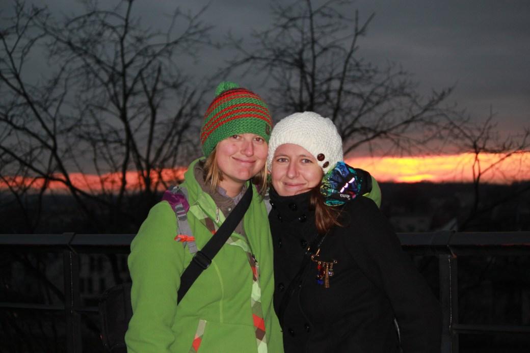 Beata and I; Krakow, Poland; 2011