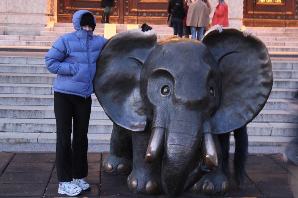 Elephant Statue; Vienna, Austria; 2011