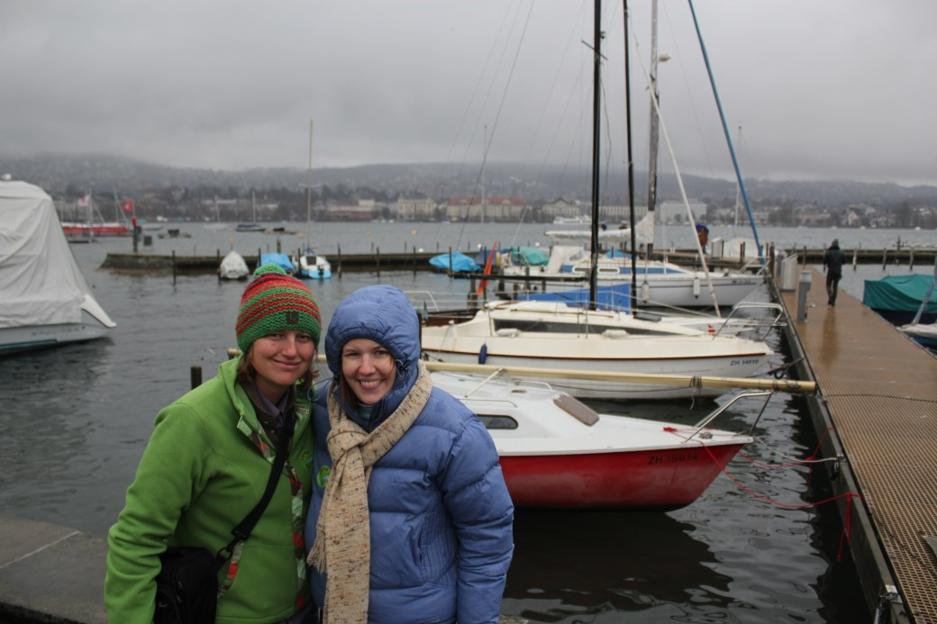 Crouchie and I; Zurich, Switzerland; 2011