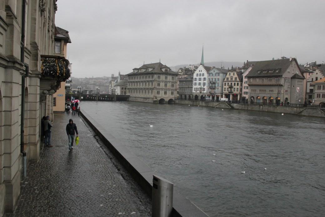 Dreary Day; Zurich, Switzerland; 2011