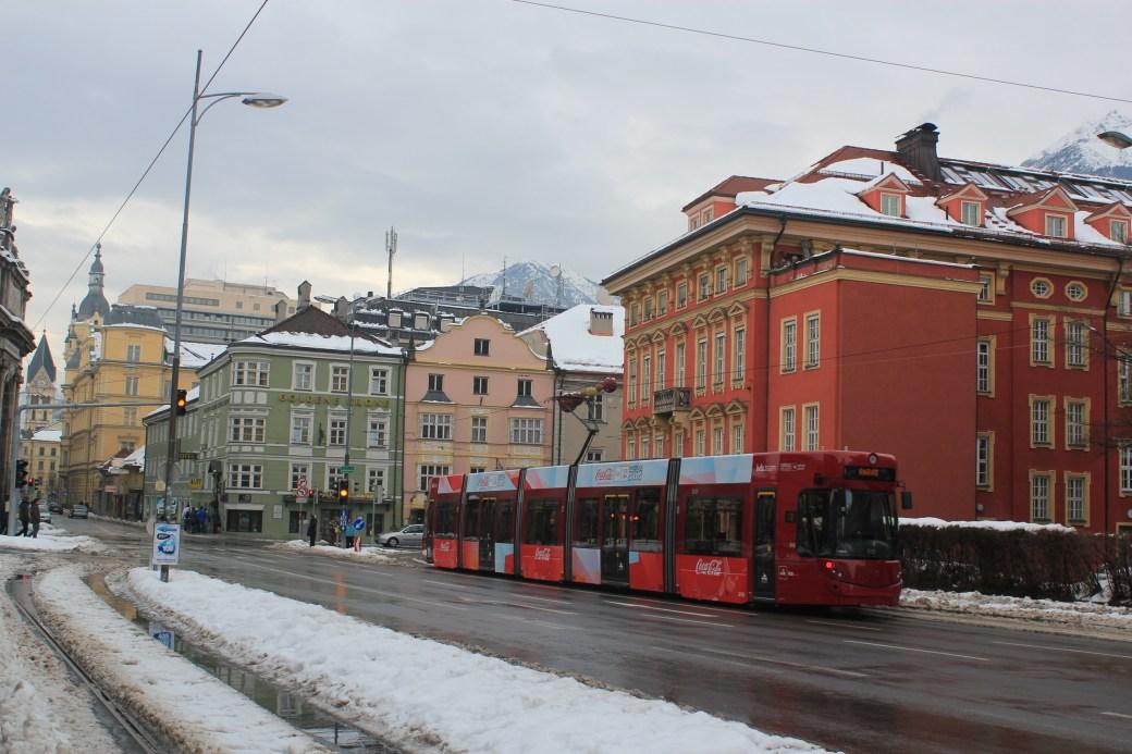 Tram; Innsbruck, Austria; 2012