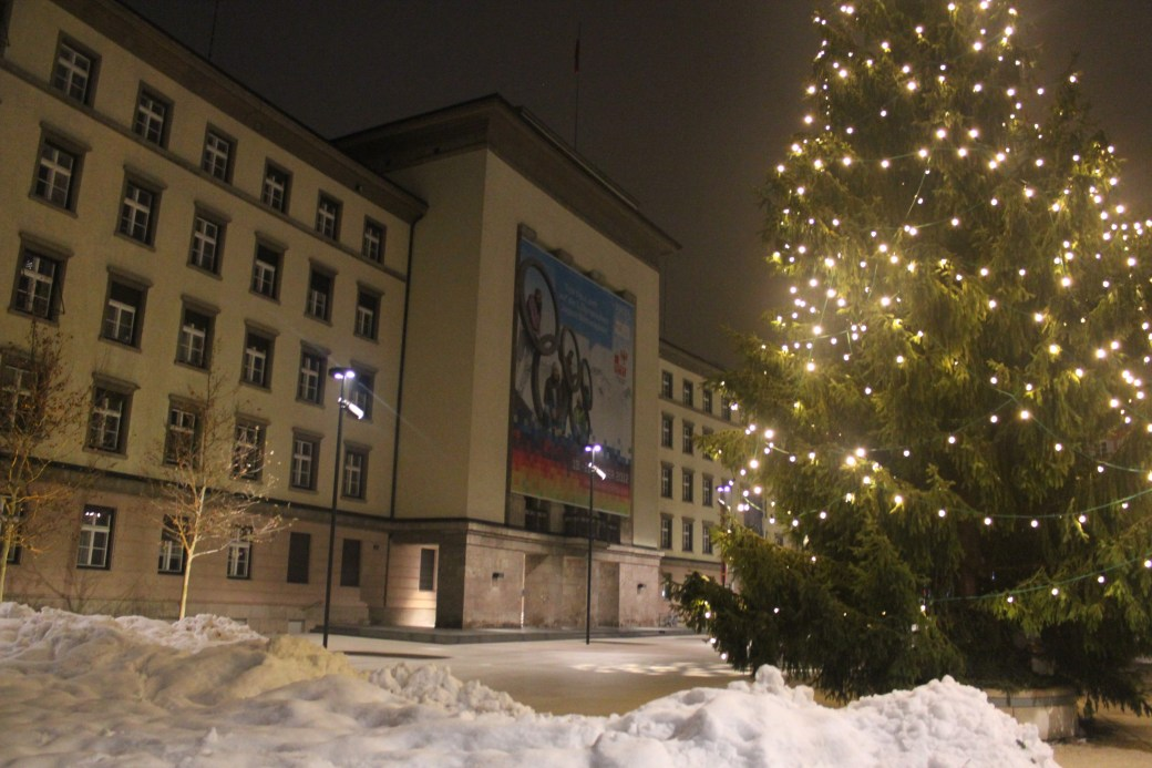 Christmas Tree; Innsbruck, Austria; 2012