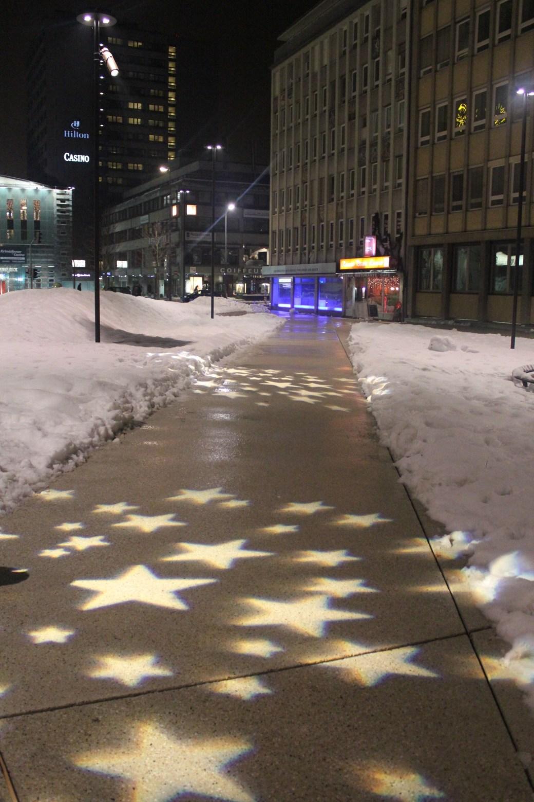 Star Lit Path; Innsbruck, Austria; 2012