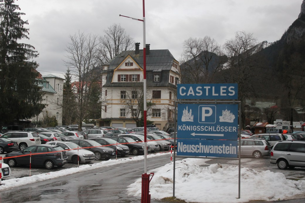 Entrance to Castles; Schwangau Village, Germany; 2012
