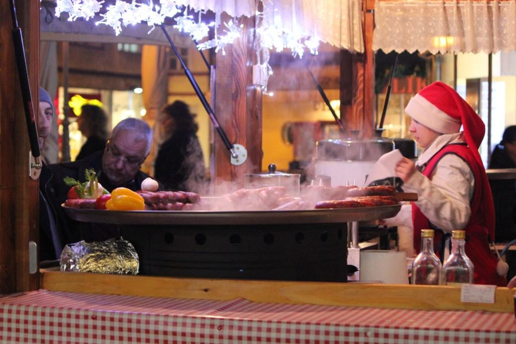 Meat Christmas Market; Zagreb, Croatia; 2011