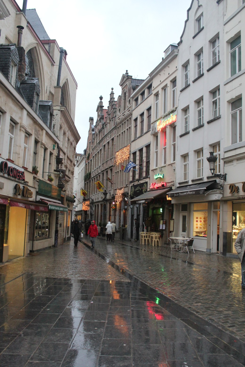 Rainy Conditions; Brussels, Belgium; 2012