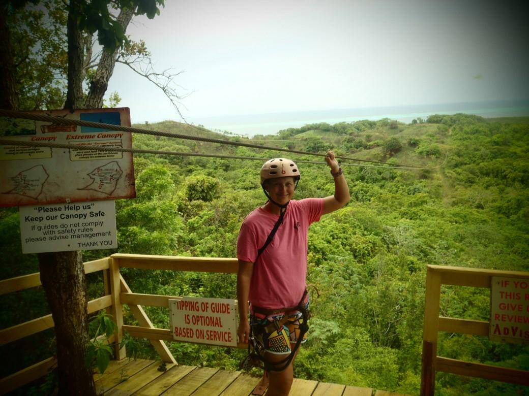 Snapshot Overlooking the Coast; Roatan, Honduras; 2013
