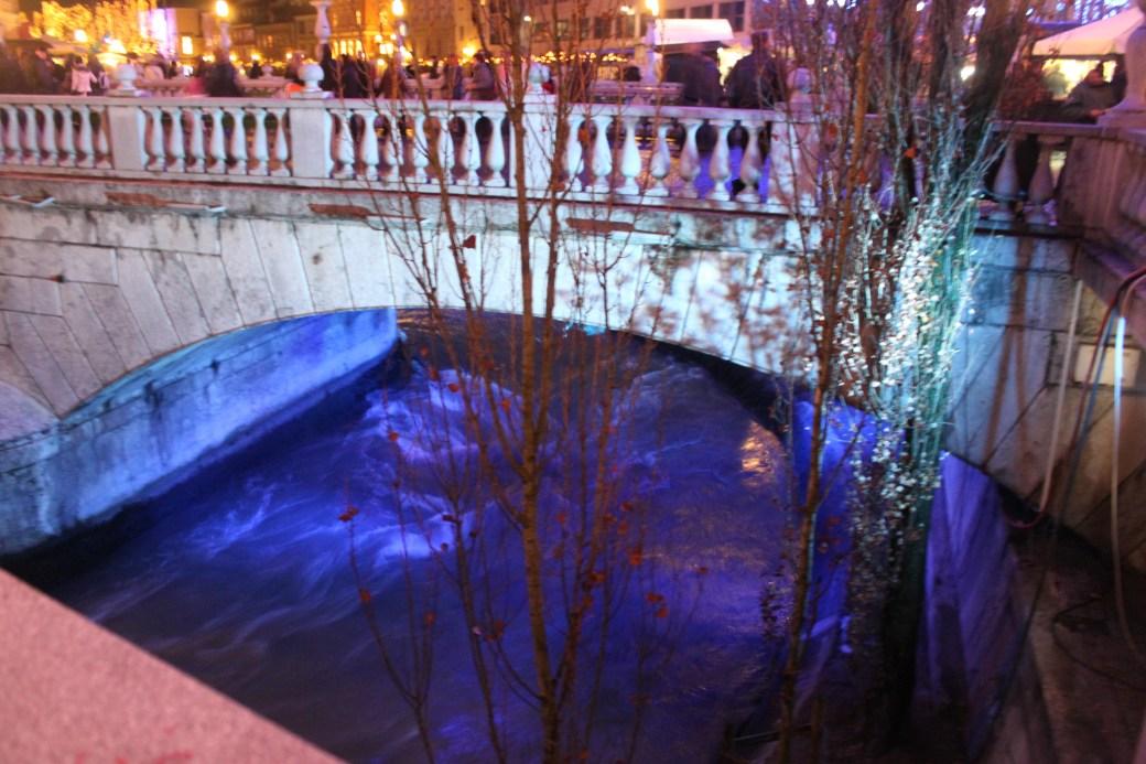 Ljubljanica River; Ljubljana, Slovenia; 2011