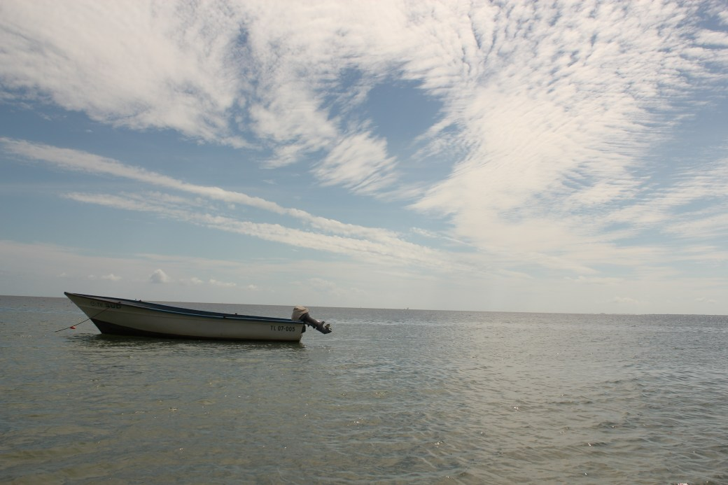 Solo Boat; Ifaty, Republic of Madagascar; 2013