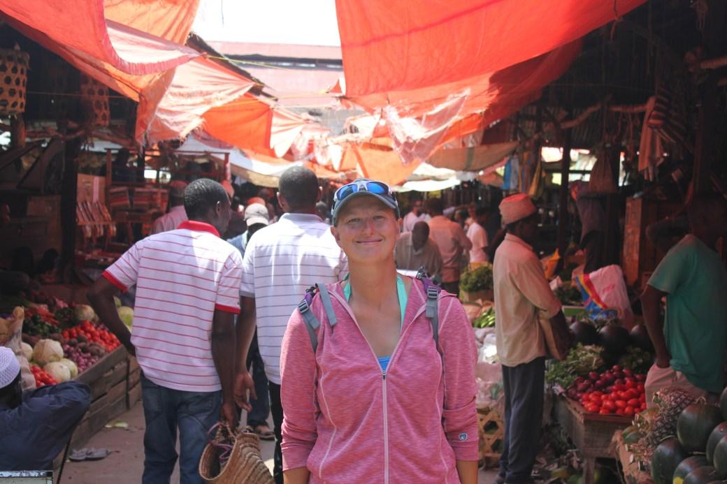 Food Market; Stone Town, Zanzibar, Tanzania; 2011