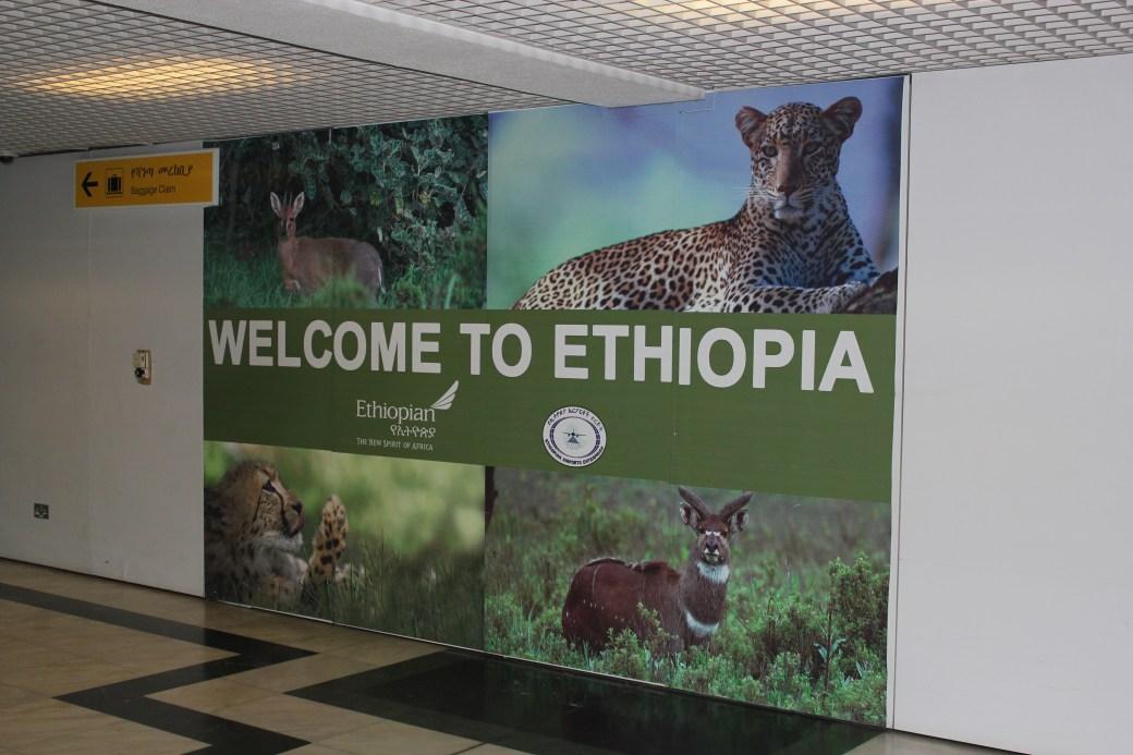 Welcome to Ethiopia; Addis Ababa, Ethiopia; 2012