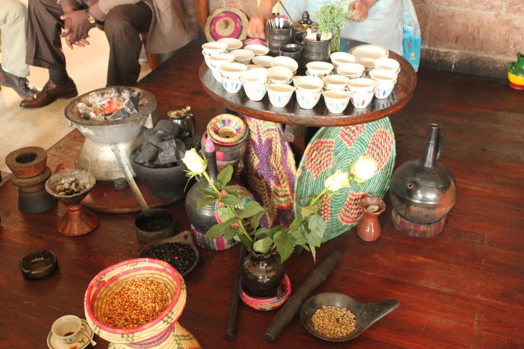 Tea Set; Addis Ababa, Ethiopia; 2012