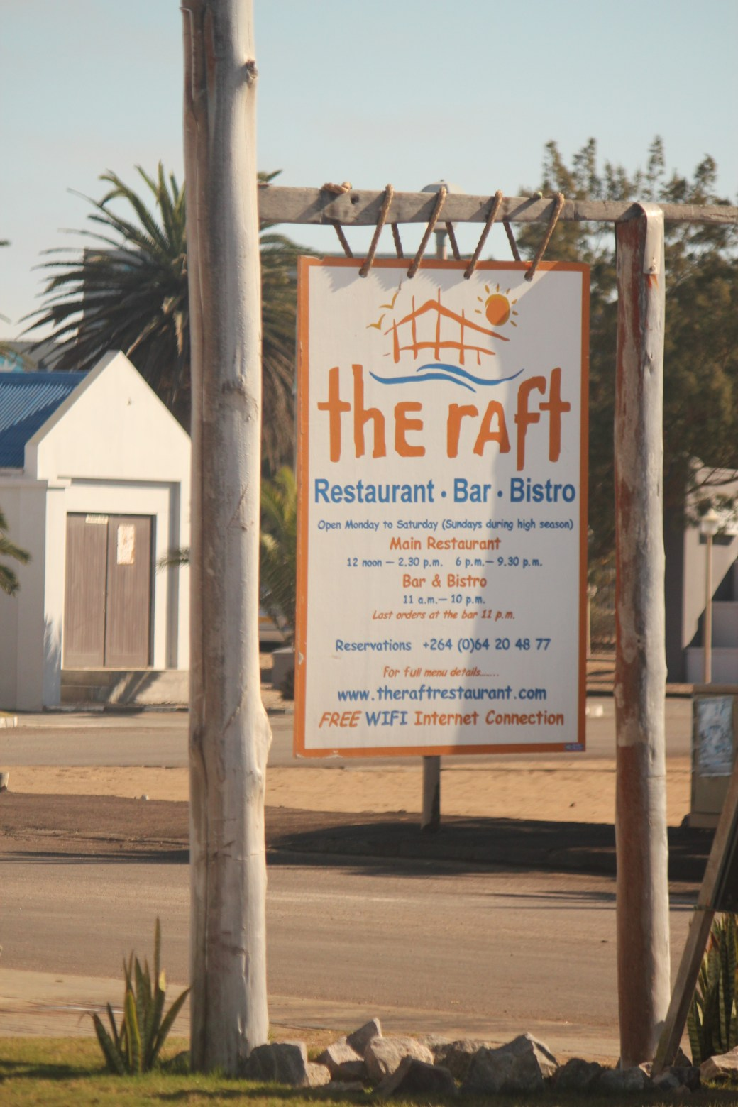 The Raft Restaurant; Walvis Bay, Namibia; 2013