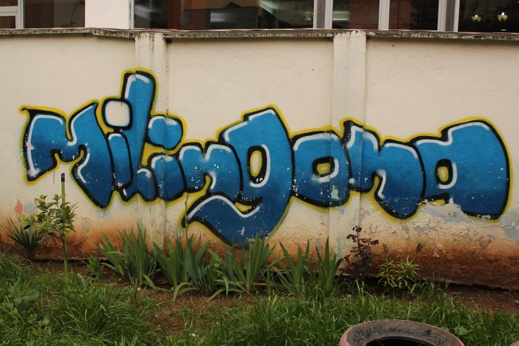 Hostel Graffiti; Tirana, Albania; 2013
