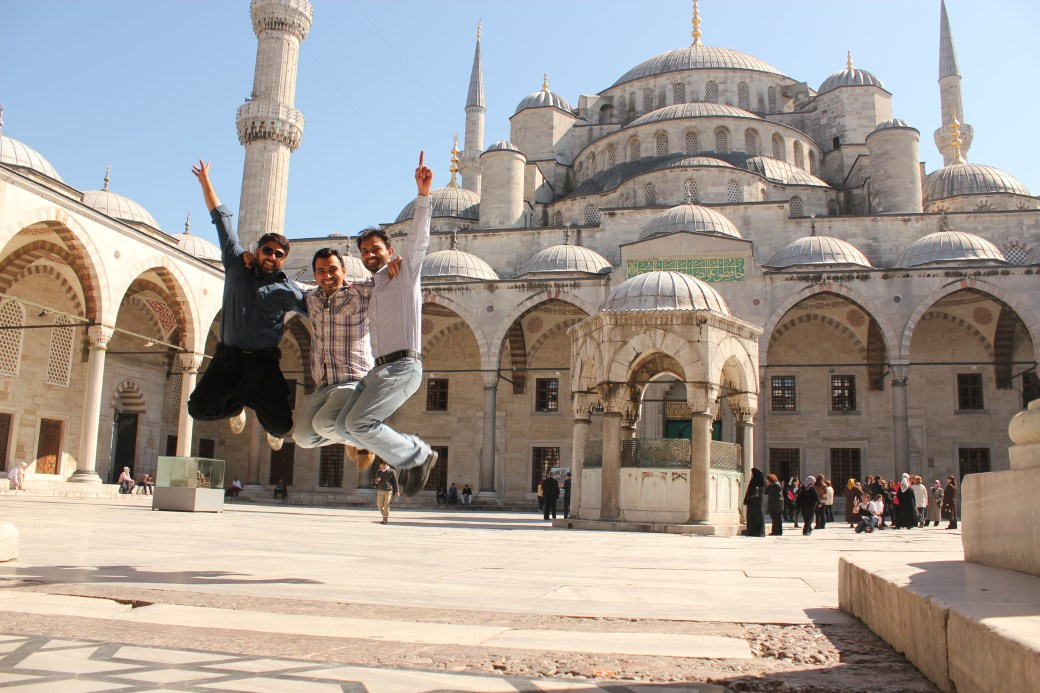 Pakistani Signature Jumpin' Photograph; Istanbul, Turkey; 2013