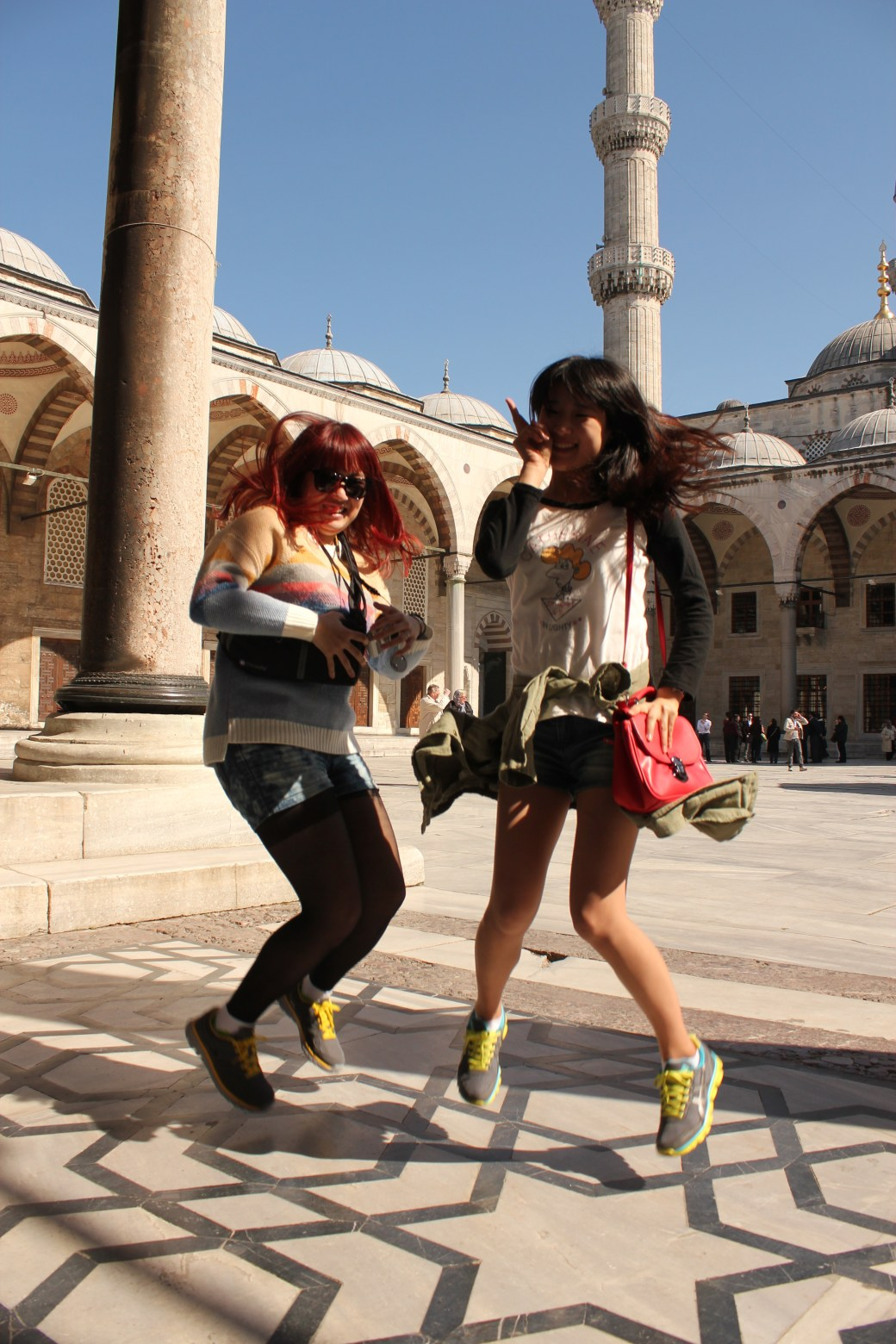 South Korean Signature Jumpin' Photograph; Istanbul, Turkey; 2013