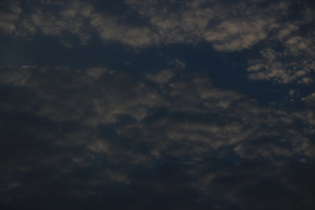 Pre-Sunrise Clouds; Democratic Republic of Congo; 2012